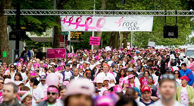 8,000 Celebrate Komen Puget Sound's 21st Annual Race for the Cure®