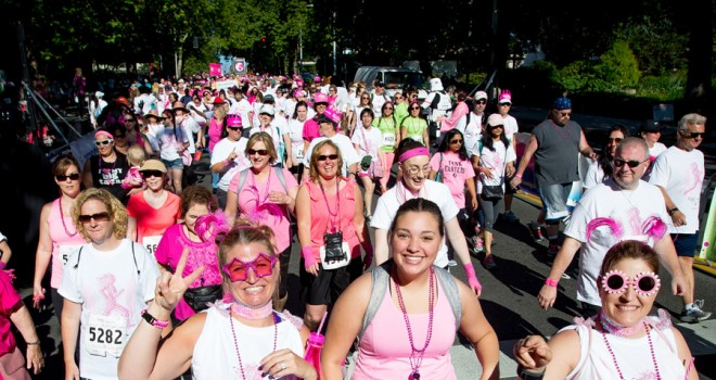 Thousands Race for the Cure® and raise more than $700,000 for Susan G. Komen Puget Sound