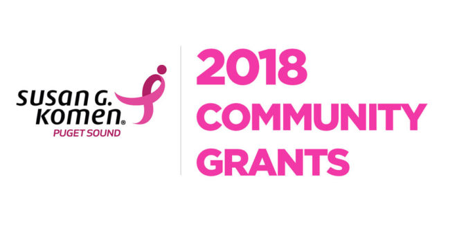 Komen Puget Sound Awards more than $600,000 to Local Breast Health Providers