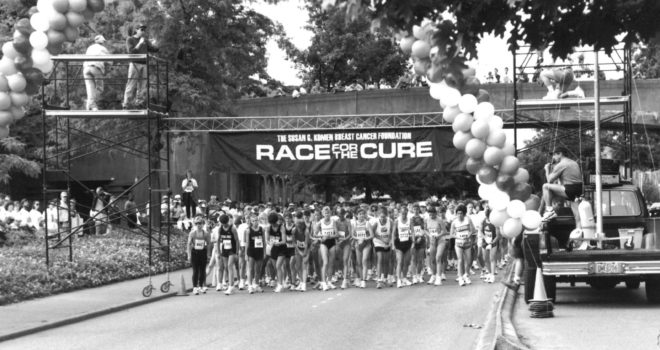 An Interview with Jan Slawson, First Race for the Cure Chair