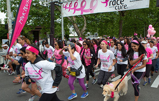 25th Anniversary Race for the Cure® raises more than $500,000 for breast cancer research, local breast health programs